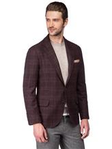 Пиджак Brunello Cucinelli 7BTD 95% шерсть, 5% кашемир Бордово-коричневый Италия изображение 0