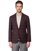 Пиджак Brunello Cucinelli 7BTD 95% шерсть, 5% кашемир Бордово-коричневый Италия изображение 2