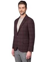 Пиджак Brunello Cucinelli 7BTD 95% шерсть, 5% кашемир Бордово-коричневый Италия изображение 3