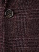 Пиджак Brunello Cucinelli 7BTD 95% шерсть, 5% кашемир Бордово-коричневый Италия изображение 5