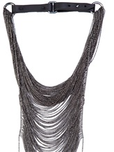 Колье Brunello Cucinelli 90223 100% серебро Серый Италия изображение 1