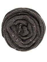 Шарф Brunello Cucinelli 500299 100% кашемир Темно-серый Италия изображение 0