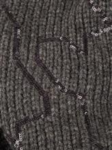Шарф Brunello Cucinelli 500299 100% кашемир Темно-серый Италия изображение 1