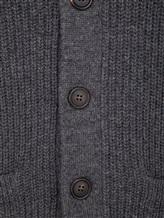 Кардиган Brunello Cucinelli 57716 100%кашемир Серый Италия изображение 5
