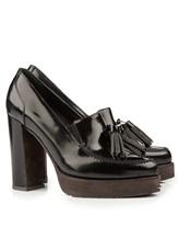 Туфли Brunello Cucinelli 044 100% кожа Черный Италия изображение 0
