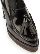 Туфли Brunello Cucinelli 044 100% кожа Черный Италия изображение 5
