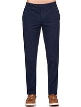 Брюки Brunello Cucinelli R1050 100% хлопок Темно-синий Италия изображение 1