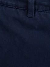 Брюки Brunello Cucinelli R1050 100% хлопок Темно-синий Италия изображение 4
