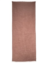 Палантин Brunello Cucinelli 081P 44% шёлк, 23% альпака, 23% кашемир, 10% нейлон темно-лиловый Италия изображение 2