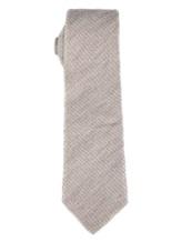 Галстук Brunello Cucinelli 0018 90% шерсть 10% шёлк Светло-серый Италия изображение 0