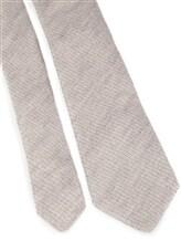 Галстук Brunello Cucinelli 0018 90% шерсть 10% шёлк Светло-серый Италия изображение 2