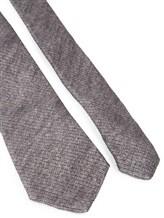 Галстук Brunello Cucinelli 0018 90% шерсть 10% шёлк Серый Италия изображение 1