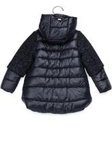 Пальто Herno GC006G 31% шерсть, 25% акрил, 20% полиэстер, 8% альпака, 8% полиамид, 8% мохер Темно-синий Румыния изображение 2