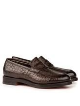 Ботинки Santoni MCHI12693 100% кожа Коричневый Италия изображение 0