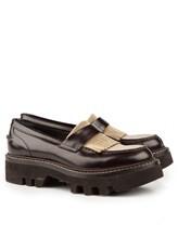 Ботинки Brunello Cucinelli 049 100% кожа Темно-коричневый Италия изображение 0
