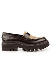 Ботинки Brunello Cucinelli 049 100% кожа Темно-коричневый Италия изображение 1