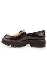 Ботинки Brunello Cucinelli 049 100% кожа Темно-коричневый Италия изображение 2