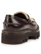Ботинки Brunello Cucinelli 049 100% кожа Темно-коричневый Италия изображение 3
