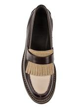 Ботинки Brunello Cucinelli 049 100% кожа Темно-коричневый Италия изображение 4