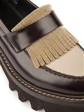 Ботинки Brunello Cucinelli 049 100% кожа Темно-коричневый Италия изображение 5