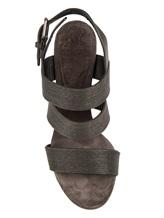 Босоножки Brunello Cucinelli 247 100% кожа Антрацит Италия изображение 4