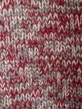 Джемпер Massimo Alba FITZ 100% кашемир Серо-бордовый Италия изображение 4