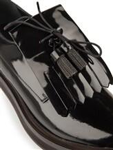 Ботинки Brunello Cucinelli 029 100% кожа Черный Италия изображение 5