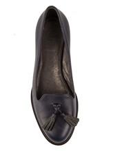 Мокасины Brunello Cucinelli 204 100% кожа Темно-синий Италия изображение 4