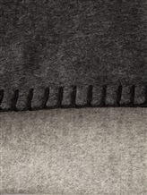 Плед Brunello Cucinelli 90137 100% шёлк Серый Италия изображение 1