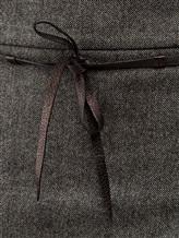 Юбка Brunello Cucinelli G2513 94% шерсть, 5% кашемир, 1% эластан Серый Италия изображение 2