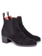 Ботинки Santoni WTFY52617 100% кожа Черный Италия изображение 0