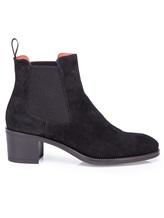 Ботинки Santoni WTFY52617 100% кожа Черный Италия изображение 1