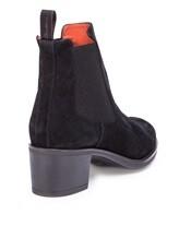 Ботинки Santoni WTFY52617 100% кожа Черный Италия изображение 3