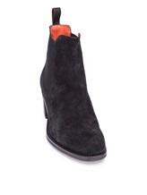 Ботинки Santoni WTFY52617 100% кожа Черный Италия изображение 5