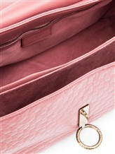 Сумка Agnona PB853X 100% кожа Темно-розовый Италия изображение 5