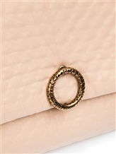 Сумка Agnona PB853X 100% кожа Бежево-розовый Италия изображение 3