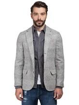 Пиджак Brunello Cucinelli 7BTD 43% шерсть, 42% альпака, 12% полиамид, 3% кашемир Светло-серый Италия изображение 0