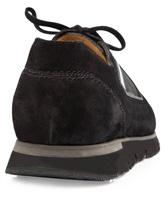 Кроссовки Santoni MBHY20210 100% кожа Черный Италия изображение 3