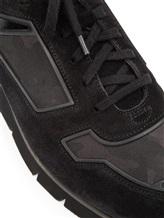 Кроссовки Santoni MBHY20210 100% кожа Черный Италия изображение 5