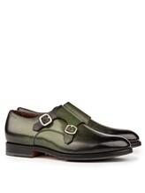 Ботинки Santoni MCC014746 100% кожа Зеленый Италия изображение 0