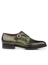 Ботинки Santoni MCC014746 100% кожа Зеленый Италия изображение 1