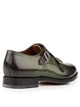 Ботинки Santoni MCC014746 100% кожа Зеленый Италия изображение 3