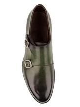 Ботинки Santoni MCC014746 100% кожа Зеленый Италия изображение 4