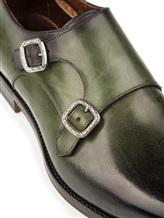 Ботинки Santoni MCC014746 100% кожа Зеленый Италия изображение 5
