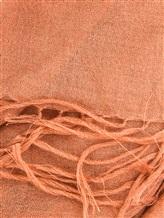 Палантин Brunello Cucinelli 049P 70% кашемир, 30% шёлк Коралловый Италия изображение 1