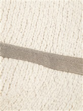 Шарф Brunello Cucinelli 330969P 76% шерсть, 23% полиамид, 1% эластан Натуральный Италия изображение 1