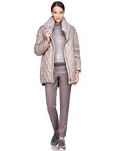 Куртка EREDA FABERGE 100% полиэстер Серо-бежевый Италия изображение 1
