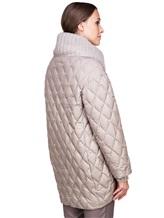 Куртка EREDA FABERGE 100% полиэстер Серо-бежевый Италия изображение 4
