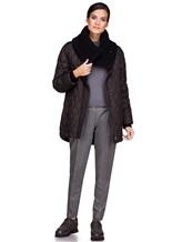 Куртка EREDA FABERGE 100% полиэстер Черный Италия изображение 1
