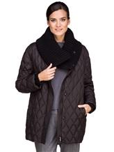 Куртка EREDA FABERGE 100% полиэстер Черный Италия изображение 0